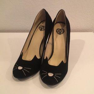 TUK kitty heels